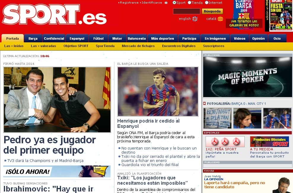 sport noticias