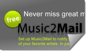 Music2Mail, notificador de música