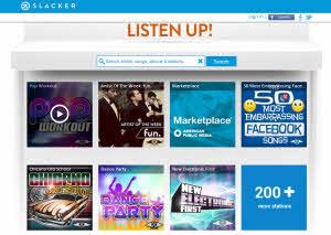 Slacker - más de 15 millones de canciones para escuchar música online gratis