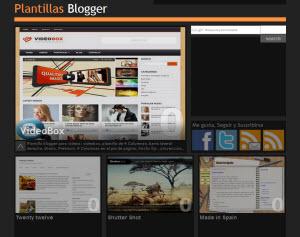 Plantillas Blogger - un sitio con decenas de templates para Blogger
