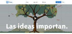 Prezi - crear y compartir presentaciones multimedia