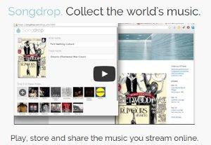Songdrop - guarda tu colección de música