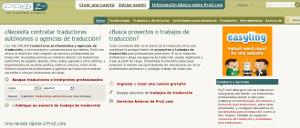 Proz.com - red social para traductores e intérpretes