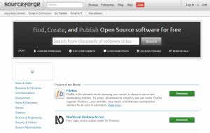 Sourceforge - repositorio de proyectos de software