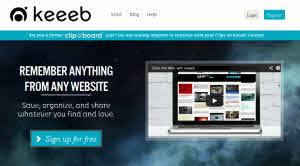 Keeeb - guardar, organizar y compartir contenido de la web