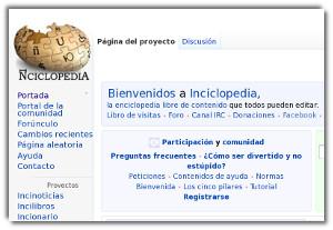 Inciclopedia - una enciclopedia divertida al estilo de Wikipedia