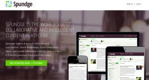 Spundge - servicio de curaduría social online