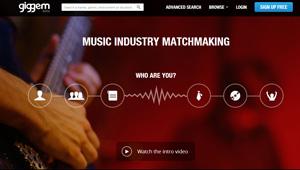 Giggem – red social para músicos y amantes de la música