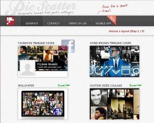 Collages de fotos y fotomontajes con Pic Scatter