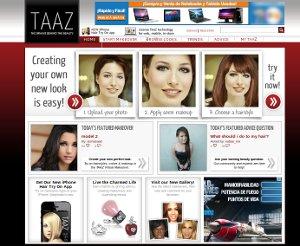 TAAZ - un modo de ver cómo te quedaría un nuevo Look