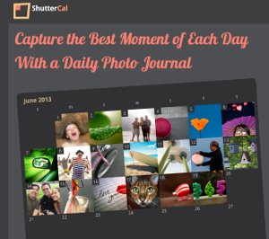 ShutterCal - red social para compartir diariamente una foto con amigos