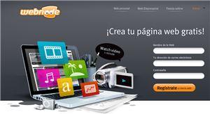 Crea tu sitio web gratis con Webnode
