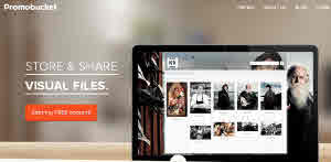 Comparte archivos visuales con tus contactos usando Promobucket