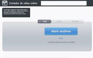 Video Cutter, cortador de video online