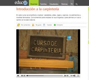 Videocurso de Carpintería - Ebanistería online