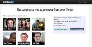 Nuzzel, un modo simple y fácil de estar al día con Facebook y Twitter