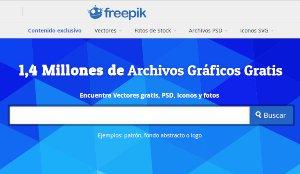 Freepik - banco de imágenes con más de 1.4 millones en stock