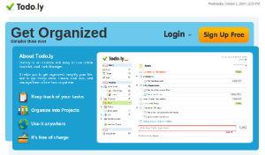 Todo.ly - gestor y organizador de tareas online