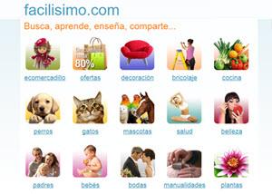 Facilisimo.com - blog y red social para compartir artículos, fotos y videos
