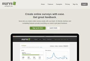 Survs - crear encuestas online con facilidad