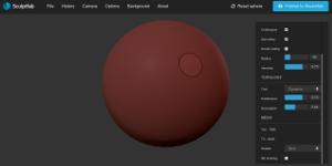 Sculptfab - crear modelos de objetos en 3D