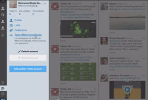 Twitter presentó TweetDeck Teams