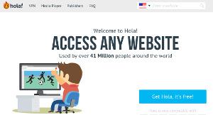 Hola.org - VPN gratuito para navegar anónimamente por la red