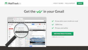 MailTrack - agregar la función doble check en Gmail como en WhatsApp