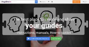 PeoplBrain - crear y compartir tutoriales y guías online