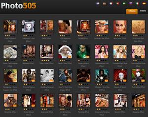 Photo505 - marcos de fotos para crear fotomontajes online