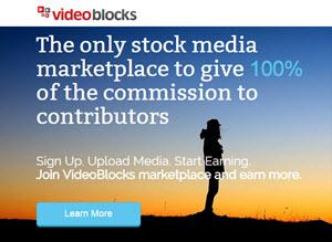 VideoBlocks - ganar dinero online creando vídeos