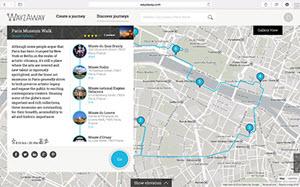 Wayzaway - crear y compartir registros de viajes online